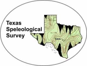 Texas Speleological Survey Logo by Jerry Fant